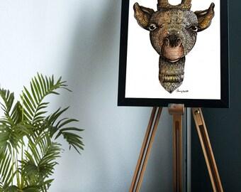Giraffe // Print