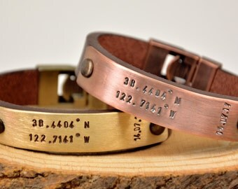 FAST SHIPPING, Men's Bracelet, Personalized Men Bracelet, Men's Leather Personalized Bracelet, Anniversary Men's Gift, Custom Men Bracelet