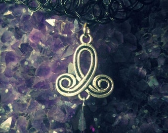 Necklace Celtic knot