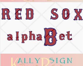 svg font, red sox svg, boston red sox svg, red sox shirt,  svg files for cricut, instant download , red sox fontsvg , baseball sign,