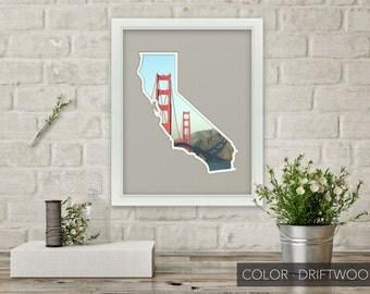 California Photo Map