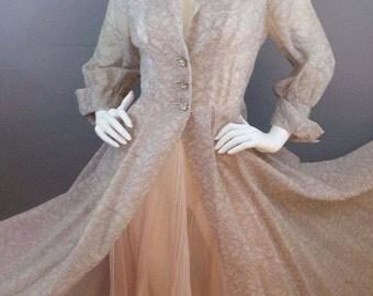 Sale Vintage 1930s rare Peer nightgown