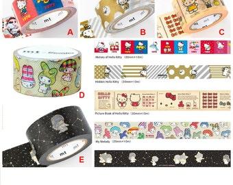 Washi Tape Sanrio Hello Kitty Little Twin Stars My Melody Gift Scrapbook