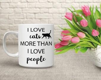 Coffee Cup Cat Gift, Big Coffee Mug, Witty Mug, Funny Cat Coffee Mug, Cute Cat Mug, Funny Cat Coffee Mug, Mugs for Cat Lovers, Cat Mug, 59