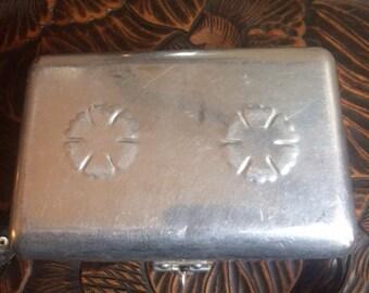 Aluminum India box purse