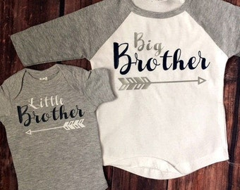 Big Brother Shirt | Little Brother Outfit | Big Brother and Little Brother Matching Shirts