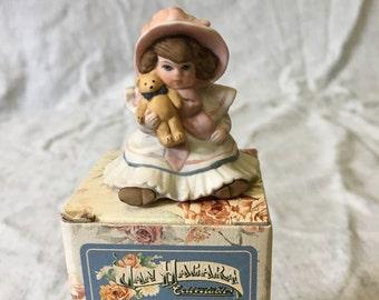 Vintage Jan Hagara Figurine, Paige Doll