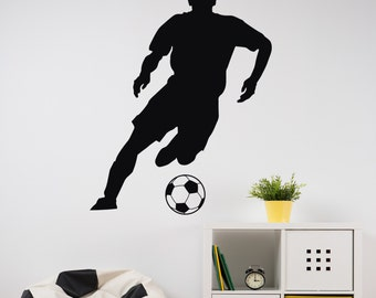 Soccer Player Dude - Vinyl Wall Decal