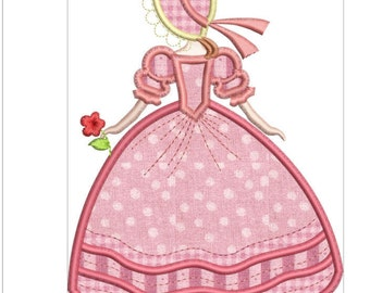 SOUTHERN BELLE APPLIQUE machine embroidery download 3 diff sizes ( 5x5   6x6   7x7)