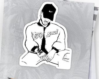 Bryson Tiller Sticker