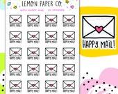 M014 Happy Mail // Planner Stickers