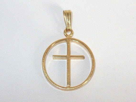 Vintage  Kordes & Lichtenfels cross pendant
