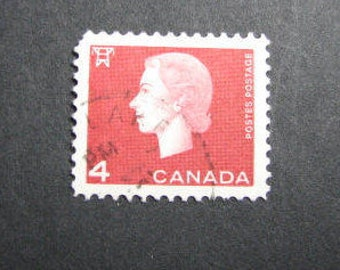 600 Canadian 4 cent postage stamps  from 1963
