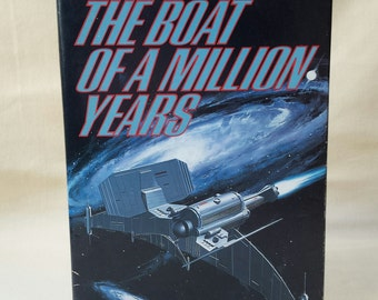 Book ~ The Boat of a Million Years ~ Poul Anderson ~ Immortality ~ Space Travel ~ Science Fiction ~ Novel ~ Seths Vintage Emporium