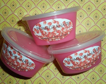 Pomegranate - wax melts - wax shots - candle melts - tart melts - home fragrance - Buy 10 get 1 Free