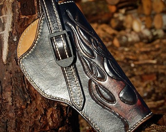 Custom Leather Holster By Belt Up