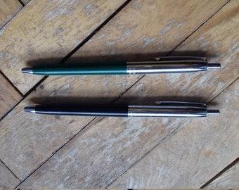 """2 Vintage  Italian ballpoint pen """"BIC"""""""