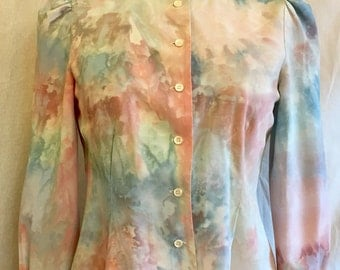50% off Psychedelic Steam Punk Blouse sale