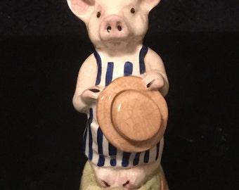 Vintage Royale Stratford Humble Pig Figurine