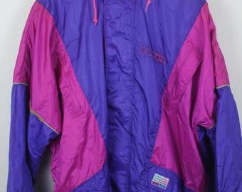 Vintage jacket, 90s windbreaker, track jacket, sportswear