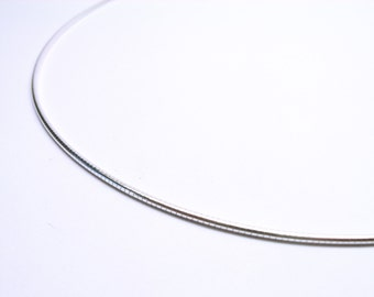 Silver necklace silver chain necklace 40 cm 1, 1 mm Sterling Silver 925 necklace