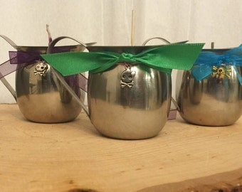 Set of 3 Pitcher candles waxplay BDSM reusable container