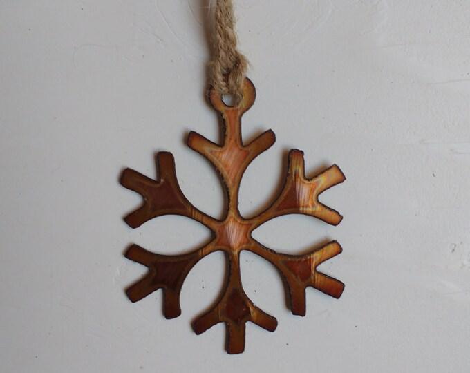"""Copper """"Ice Princess"""" Ornament"""