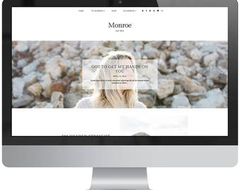 SALE! Monroe | Responsive Blogger Template
