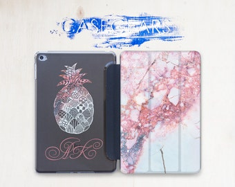 Pine Apple Rose Marble Pad Air Case iPad Pro 9 7 Case iPad iPad 4 iPad Marble Pro Case Case iPad Mini 2 iPad Air Case Marble CGSC020