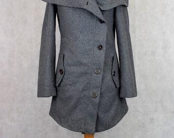 Marella Sport Grey Jacket, Vintage Jackets, Vintage Coats, Vintage Clothing, Vintage Clothing, Clothing, Women's Clothing