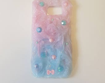 Kawaii Decoden Case for Samsung S6// mermaid smartphone// Cute// S6// Mermaid collection// OliSkyless