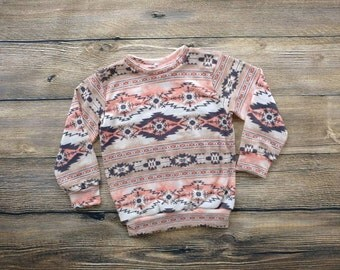 Baby Sweater Baby Sweatshirt Toddler Sweater Toddler Sweatshirt Tribal Print Baby Winter Clothes Baby Girl Clothes Boho Baby Clothes