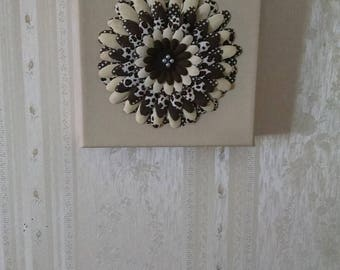 Flower on Canvas