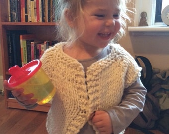 Chunky Wool Toddler Sweater