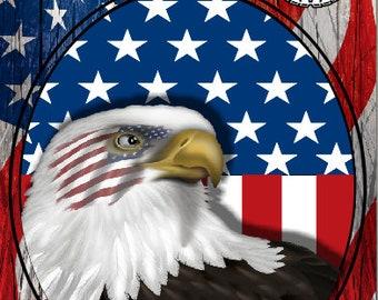 Military Honor Vets Flag 2 Cornhole Wrap Bag Toss Decal Baggo Skin Sticker Wraps