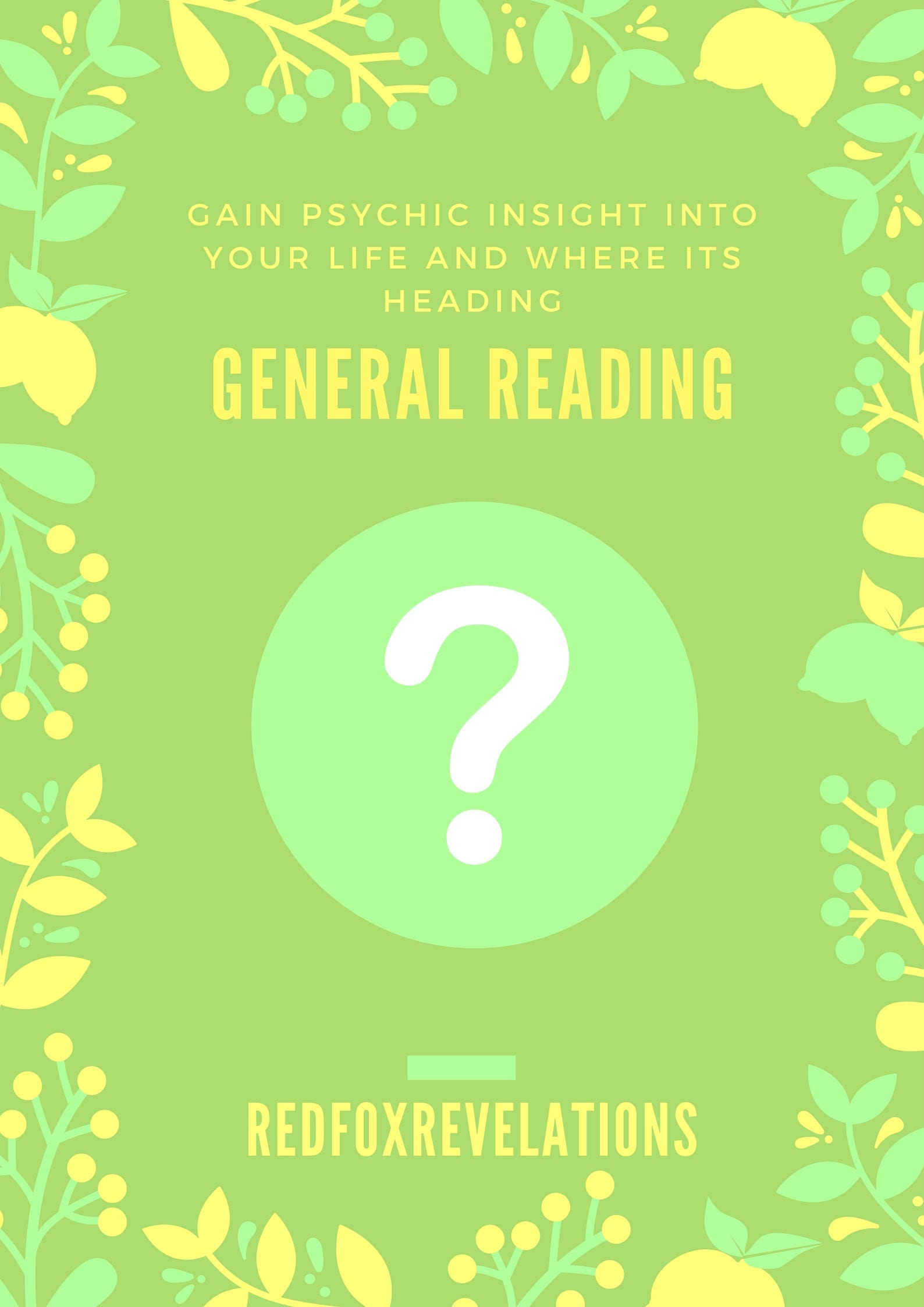 Psychic Reading Meaning: General Psychic Reading