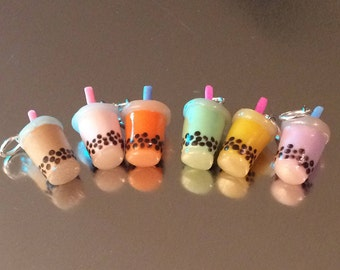 Bubble Tea Charms
