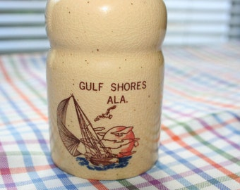 Gulf Shores Alabama Souvenir Shaker, Toothpick Dispenser