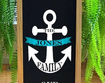 Lake House Sign , Lake House Decor, Nautical Decor, Porch Decor, Door Sign, Rustic Welcome Sign, Cabin Decor, Beach House Sign, Personalize