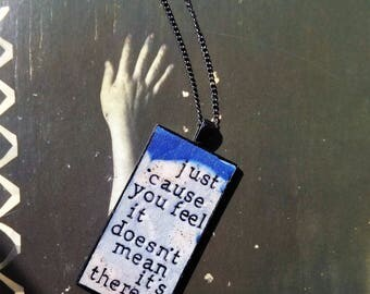 Radiohead There There Pendant Necklace