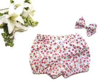 Rosy Garden Shorties, Girls Shorts, Baby Shorts, Bloomers, Baby Bloomers, Baby Clothes, Toddler Clothes, Childrens Clothes