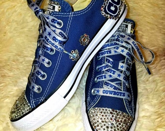 Dallas Cowboys Bling Converse