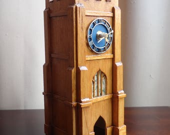 Mantle Clock, Medieval Country Church