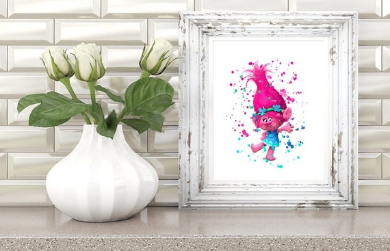 Dreamworks Trolls Princess Poppy Poster Art Print