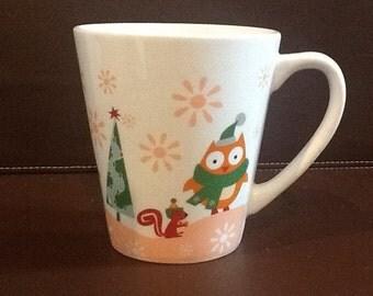 Adorable Woodland Winter Mug