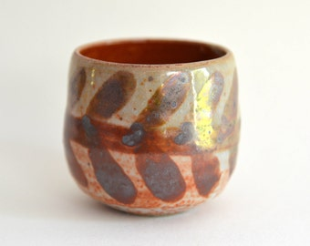 Whisky Cup // Shino Yunomi // Gasfired cup // Shino Glaze // Teacup