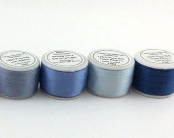 ThreadArt 7mm Silk Ribbon (10 meters) Sold by Individual Spools