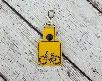 Bike Keychain/Zipper Pull