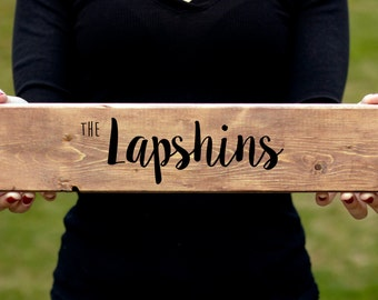 Personalized family name signs, Wood Sign, Custom Wooden Signs, Wooden Sign, Rustic Wood Sign, Last Name Sign, Family Name Sign, Wood Sign