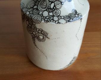 revamped vintage vase